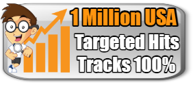 NEW 1 MILLION TARGETED HITS $14.99